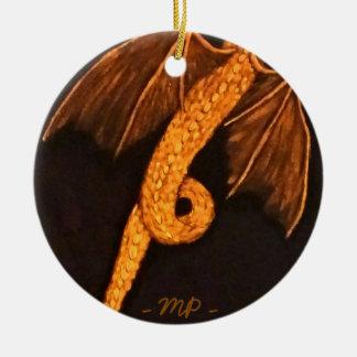 Bronze Dragon Body Christmas Ornament
