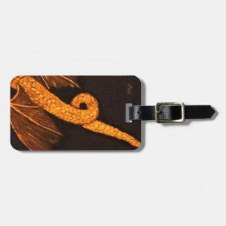 Bronze Dragon Body Luggage Tag
