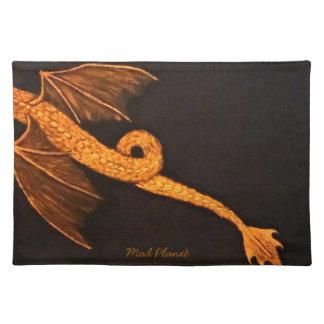 Bronze Dragon Body Placemat