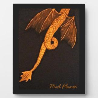 Bronze Dragon Body Plaque