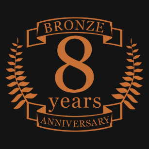 8th year anniversary gifts gift ideas zazzle uk