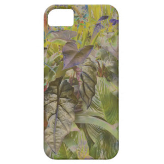 Bronze foliage plants phone case case for the iPhone 5