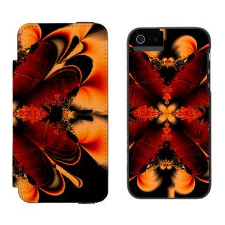 Bronze Fractal Incipio Watson™ iPhone 5 Wallet Case