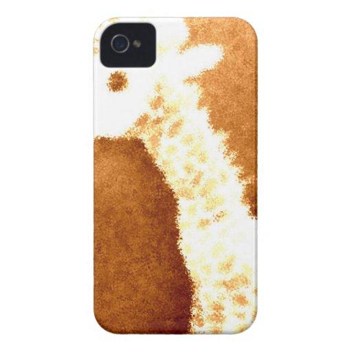 Bronze Giraffe Case-Mate iPhone 4 Cases