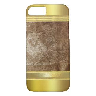 Bronze Gold Textures iPhone 7 Case