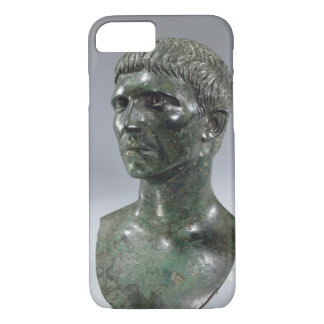 Bronze head of a man, Roman, beginning of 1st cent iPhone 8/7 Case