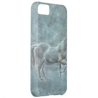 Bronze horse iPhone 5C case