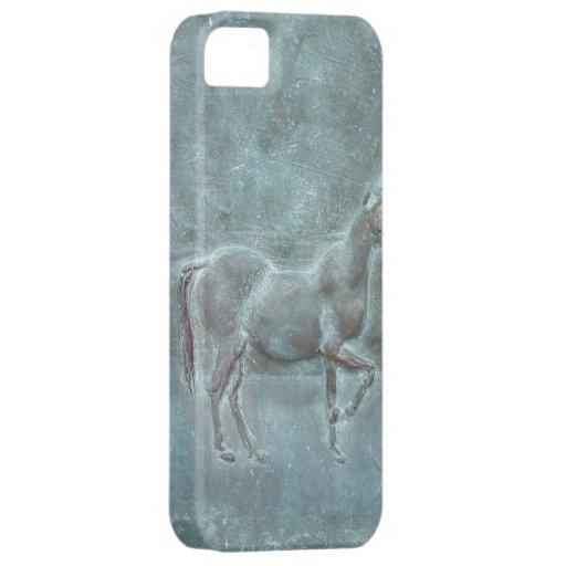 Bronze horse iPhone 5 cover