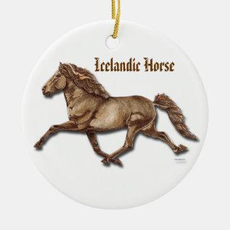 Bronze Icelandic Christmas Ornament