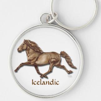Bronze Icelandic Key Ring