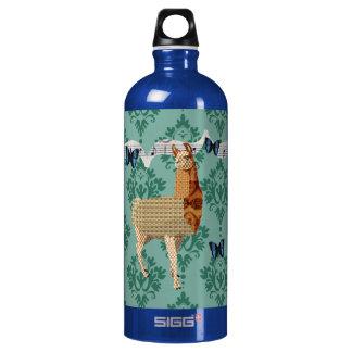 Bronze Llama Jaded Damask Liberty Bottle SIGG Traveller 1.0L Water Bottle