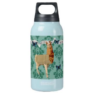 Bronze Llama Jaded Damask Liberty Bottle 10 Oz Insulated SIGG Thermos Water Bottle
