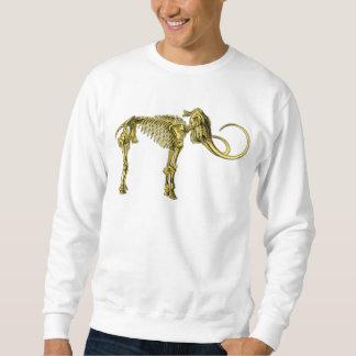 Bronze Mammoth Skeleton Sweatshirt