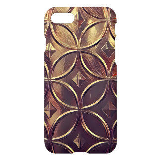 Bronze Metallic iPhone 7 Case