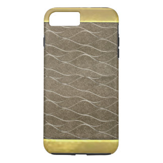 Bronze Metallic Pattern Cool iPhone 7 Plus Case