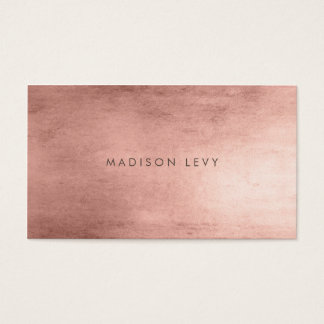 Bronze Minimalist Distressed Appointment Cards
