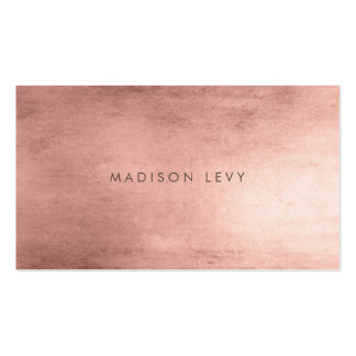 Bronze Minimalist Distressed Appointment Cards Pack Of Standard Business Cards