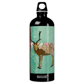Bronze Ornate Buck Liberty Bottle SIGG Traveller 1.0L Water Bottle