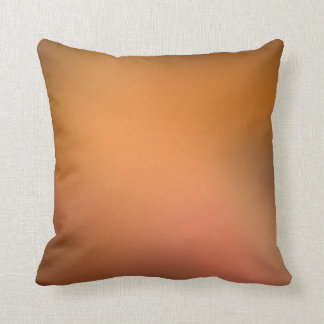 Bronze Rose Mist Gradient Lumbar and Throw Pillows