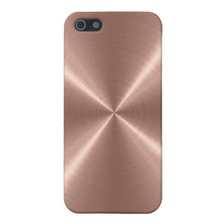 Bronze Stainless Steel Metal Case For iPhone 5/5S