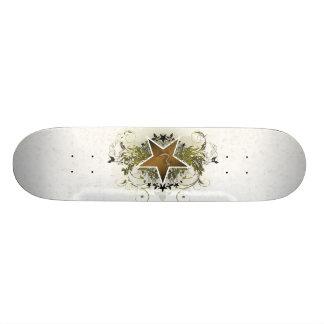 Bronze Star Skateboard Deck