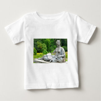 Bronze statue depicting woman baby T-Shirt