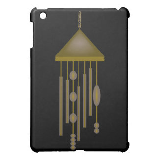 Bronze Wind Chime With Ovals And Circles Case For The iPad Mini