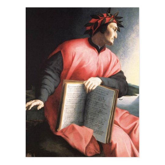 Bronzino - Allegory of Dante Postcard