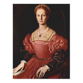 Bronzino - Lucrezia Panciatichi - 1540 Postcard