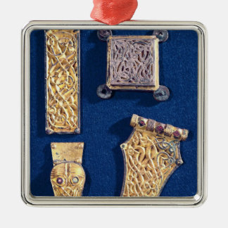 Brooch and buckles christmas ornament