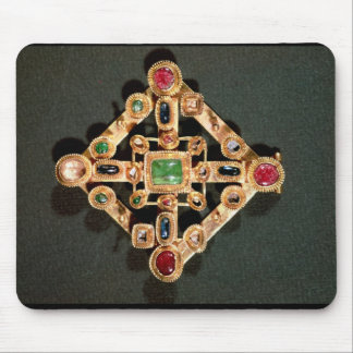 Brooch in the form of a Greek cross Mouse Mat