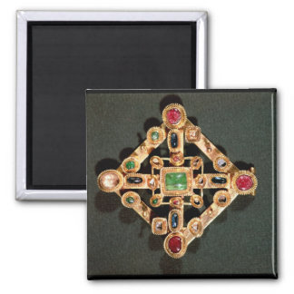 Brooch in the form of a Greek cross Square Magnet