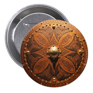 Brooch Targe Pinn 7.5 Cm Round Badge