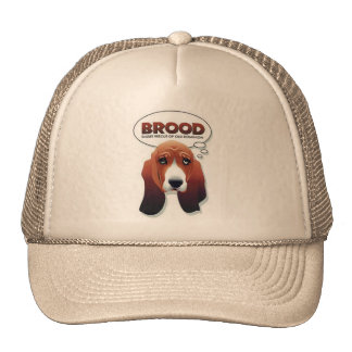 BROOD basset trucker hat