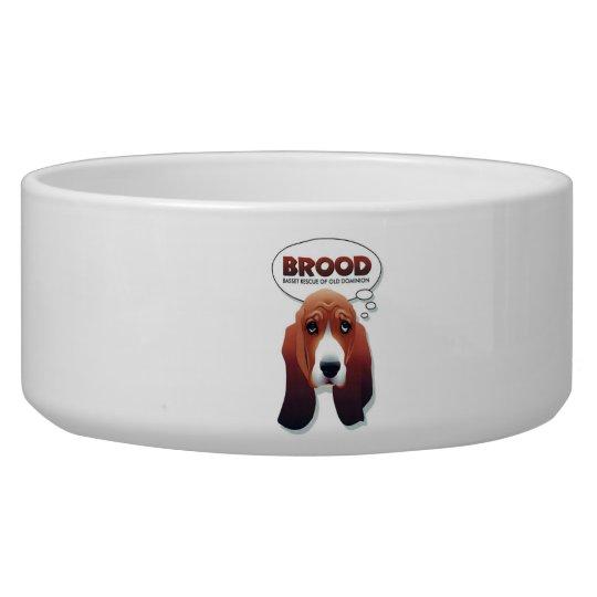 Brood dog bowl