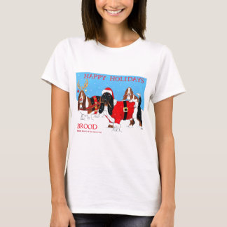brood happy holidays T-Shirt
