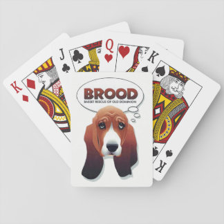 BROOD Logo Playing Cards