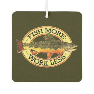 Brook Trout Angling Car Air Freshener