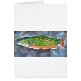 Brook Trout Card