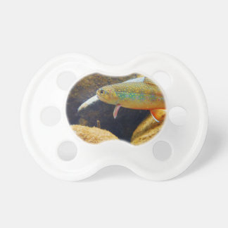 Brook Trout Baby Pacifiers