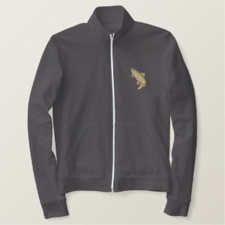 Brook Trout Embroidered Jacket