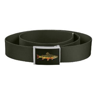Brook Trout Fisherman Belt