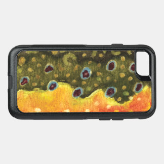 Brook Trout Fishing, Ichthyology OtterBox Commuter iPhone 8/7 Case