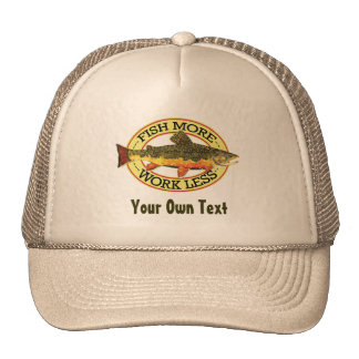 Brook Trout Fly Fisherman Cap