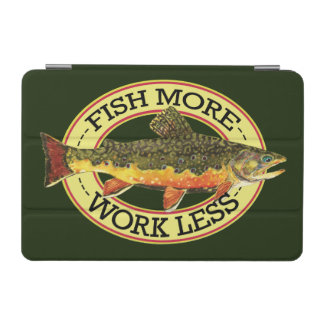 Brook Trout Fly Fishing iPad Mini Cover