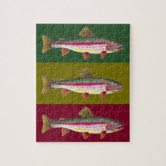 Brook Trout Fly Fishing Jigsaw Puzzle