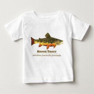 Brook Trout, Latin Baby T-Shirt