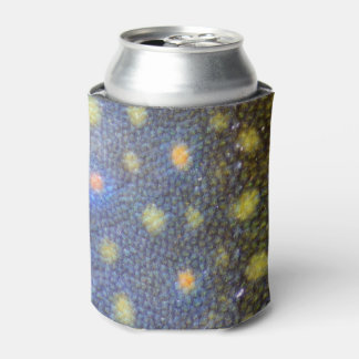 Brook Trout Scales Photography Can Cooler