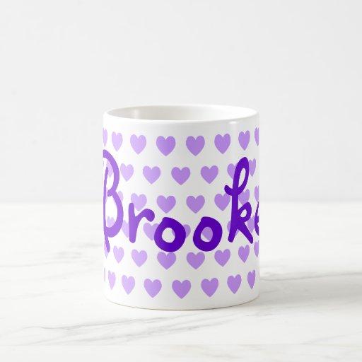 Brooke in Purple Coffee Mug