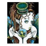 """Brooke"" Pet Fish Couture Fairy Art Postcards"